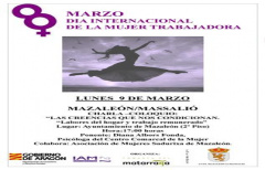 El próximo lunes, charla en Mazaleón para conmemorar el 8 de marzo
