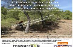 Próximamente, curso de peón forestal especializado, en la comarca del Matarraña