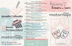 Las Jornadas Culturales del Matarraña llenarán de actividades a las poblaciones de la comarca