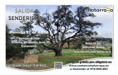 Salida senderista desde la ermita de Santa Ana en Calaceite, el próximo 21 de marzo