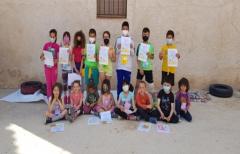 Los alumnos del CRA Alifara participan en la actividad '¿Cómo será el Matarraña cuando sea mayor?'