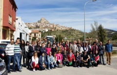 Empresarios y agentes turísticos del Matarraña, Morella y Terra Alta, intercambian experiencias en Morella