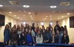 Alumnos franceses de intercambio con el IES Matarraña visitan la Comarca