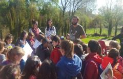 Los niños de los CRA del Matarraña aprenden a cuidar el medioambiente y a reciclar con los talleres de la Comarca del Matarraña