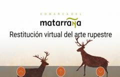 Se actualiza la aplicación 'Matarranya rock art', con la que se pueden visitar de forma virtual, las pinturas rupestres de la comarca del Matarraña