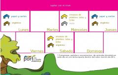Nuevos calendarios de recogida Porta a porta: se añade recogida de papel y cartón los lunes