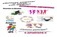 Actividades deportivas para iniciar el curso, esta próxima semana en el Matarraña