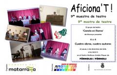 Las Jornadas Culturales de la Comarca del Matarraña continuarán los días 06 y 07 de diciembre