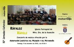 Las jornadas culturales de la Comarca del Matarraña finalizarán con actuaciones en Ráfales y La Fresneda