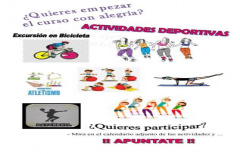 Actividades gratuitas para comenzar bien el mes de septiembre, organizadas por el Departamento de Deportes de la Comarca del Matarraña