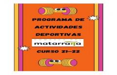 Abiertas las inscripciones para las actividades deportivas para adultos y niños para el curso 2021-2022