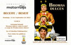 Actividad infantil 'Bromas dulces' en Beceite, el próximo 12 de septiembre