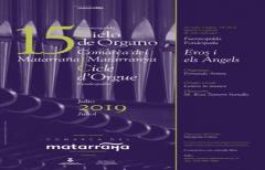 El sábado 27 de julio, se celebrará el XV Ciclo de Órgano de la Comarca, en Fuentespalda