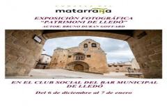 Exposición fotográfica 'Patrimoni de Lledó'