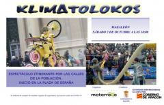 Actividad cultural en Mazaleón el 2 de octubre: 'Klimatolokos'