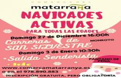 Navidades activas en el Matarraña, los días 27 de diciembre y 03 de enero