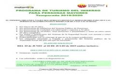 Abierto el plazo de inscripción para disfrutar de las vacaciones del IMSERSO hasta el 10 de julio