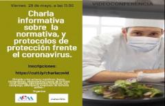 El Departamento de Turismo y la Asociación de Empresarios organizan una charla sobre normativa y protocolos de prevención frente al COVID-19