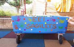 Los niños de la Escuela comarcal de Educación Infantil 'Sagalets' participarán en talleres con motivo del 'Día Mundial del Medioambiente'