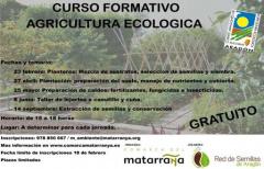 La Comarca organiza un curso formativo de agricultura ecológica