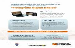 Continúan los Talleres de difusión de las tecnologías en Ráfales, los días 17 y 18 de mayo