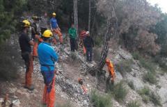 Éxito de participación en el curso de peón forestal especializado, organizado por la Comarca del Matarraña