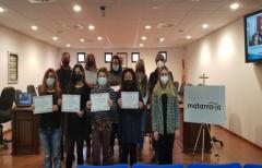 Las alumnas del Taller de Empleo 'Aproximat Matarranya' reciben sus diplomas