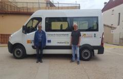 La Comarca del Matarraña cuenta con una nueva furgoneta para el transporte social adaptado