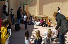 Alumnos del colegio de Beceite y de Lledó aprenden a ser técnicos de Turismo
