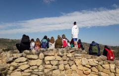 Los alumnos de 1º de la ESO del IES Matarraña conocen el patrimonio íbero