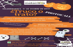 Actividades de Halloween para todos los públicos, el jueves 31 en Valderrobres