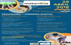 I Jornada Digital gratuita para todos los públicos, el 28 de abril en Valderrobres, organizado por el Departamento de Juventud