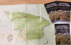Valdeltormo cuenta con un mapa que recoge todos los topónimos tradicionales