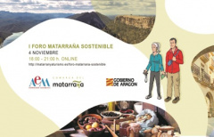 La Asociación de Empresarios Matarranya y la Comarca del Matarraña organizan el I Foro online Matarraña Sostenible, el día 04 de noviembre