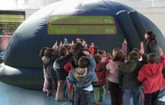 Planetario 'Educa-ciencia' para niños, en la comarca del Matarraña