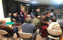 Buena participación en las charlas impartidas en las poblaciones del 'Porta a porta'