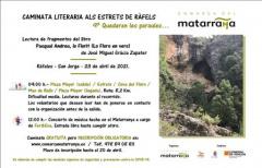 El 23 de abril se celebrará el 'Quedaran les paraules' más deportivo