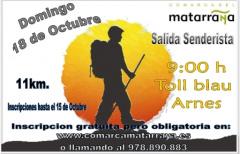 Próxima salida senderista para el 18 de octubre: abiertas las inscripciones