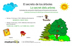 'El secreto de los árboles' viajará este viernes y el sábado a Monroyo y Torre del Compte