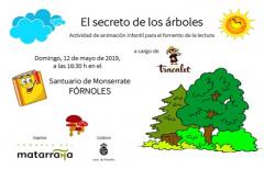 Fórnoles acogerá 'El secreto de los árboles' el día 12 de mayo
