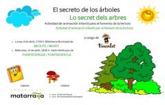 La actividad 'El secreto de los árboles' se celebrará la próxima semana en Beceite y Fuentespalda