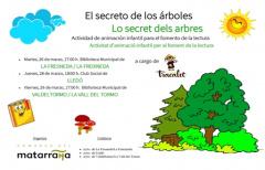 'El secreto de los árboles', una actividad de animación a la lectura para los niños del Matarraña
