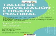 Taller de movilización e higiene postural, el 27 de noviembre, en la sede comarcal de Valderrobres