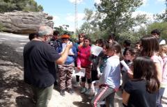 Los alumnos del CRA Matarraña conocen los paisajes fluviales de nuestra comarca