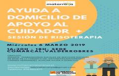 Nuevo taller de apoyo al cuidador, el 06 de marzo en la sede comarcal