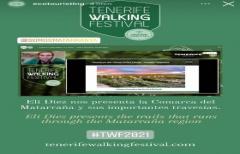 El Departamento de Turismo participa con una ponencia en el 'Tenerife Walking Festival'