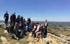 Alumnos del Grado en Geografía y Ordenación del Territorio de la Universidad de Zaragoza, visitan el Matarraña