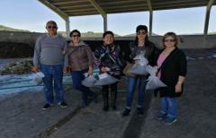 Los vecinos de Fórnoles cierran las jornadas de visita a la planta de compostaje comarcal