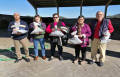 Los vecinos de Monroyo visitan la planta de compostaje de la comarca del Matarraña