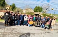 Empresarios del Matarraña viajan a Cantabria para conocer cómo trabajan con la Marca de Calidad Territorial